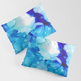 Blue Aqua Pillow Sham