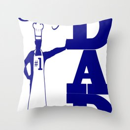 CHEF DAD GEAR Throw Pillow