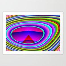 Color composition 5 Art Print