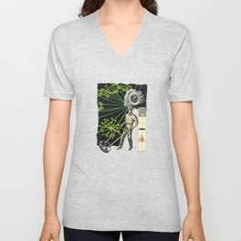 Don't Forget Who Drives The Monkey - We Do Unisex V-Neck