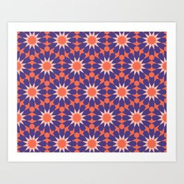 Cosy Moroccan Art Print