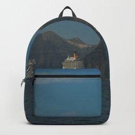 Santorini, Greece 5 Backpack