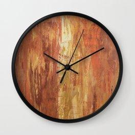 Soul on Fire Wall Clock