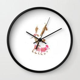 Golden Strike Wall Clock