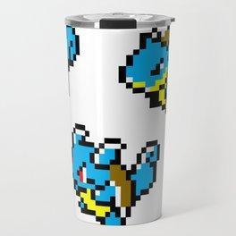 Squirtle Pixel Evolution Travel Mug