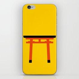 Torii (鳥居) (eastern portal) iPhone Skin