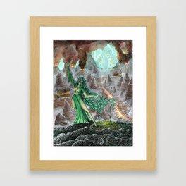 Bringer of Life Framed Art Print