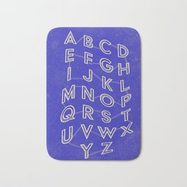 Connect the Alphabet Bath Mat