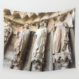 Smile of Reims Wall Tapestry