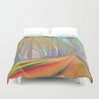 infinity Duvet Covers featuring infinity by Loosso