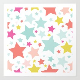 All About the Stars - Style E Art Print