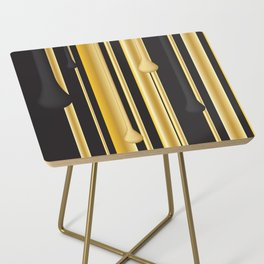 DRIPPING IN GOLD Side Table