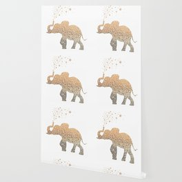 GOLD ELEPHANT Wallpaper