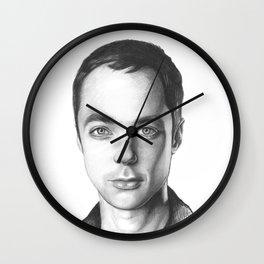 Sheldon Cooper BBT Portrait Wall Clock