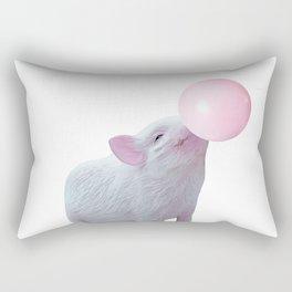 bubblegum baby big Rectangular Pillow