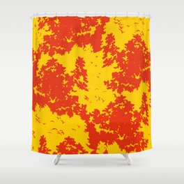 Song of nature - Sunset Shower Curtain