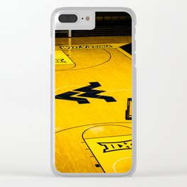 West Virginia Home Court Clear iPhone Case