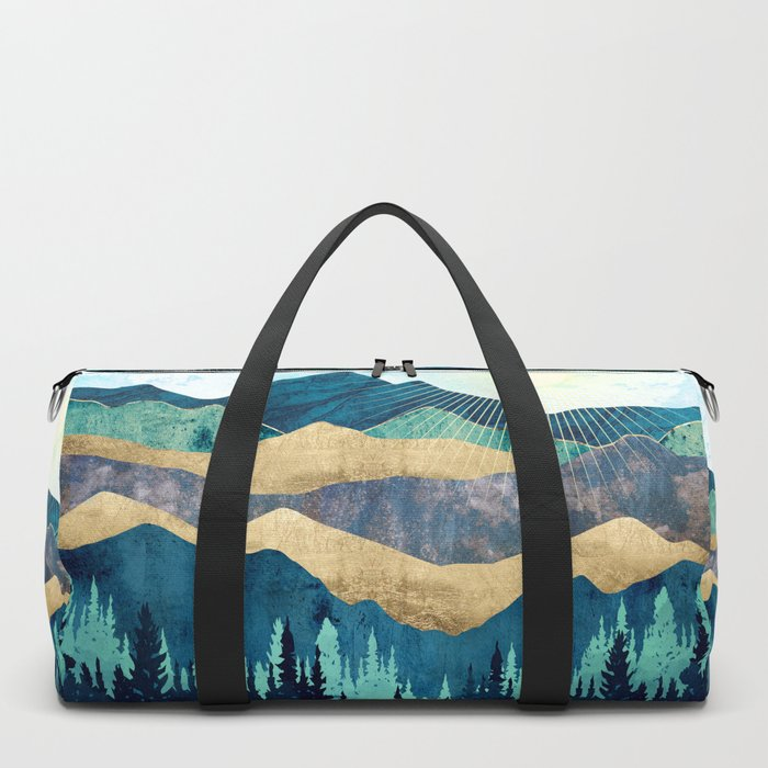 Blue Forest Duffle Bag