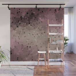 Abstract pattern in pink, beige and grey tones . Wall Mural