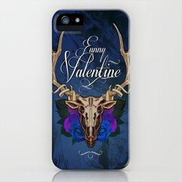 Funny Valentine iPhone Case