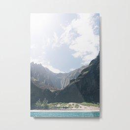 Na Pali Coast II Metal Print