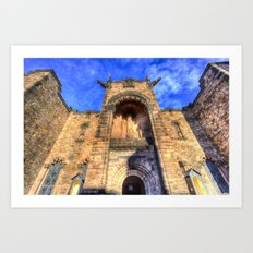 Edinburgh Castle Scotland Art Print