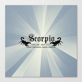 Scorpio Canvas Print