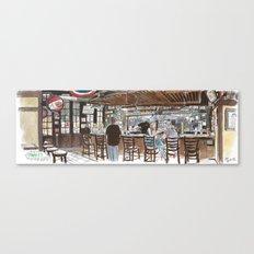 O'Mally's pub, Sacramento Canvas Print