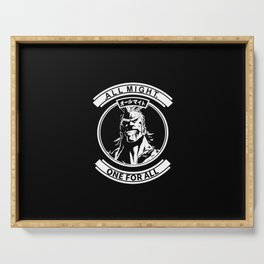All Might One for All Serving Tray
