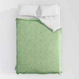 Trance Party Green Dot Comforters