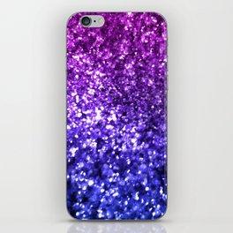 Midnight Glitter iPhone Skin