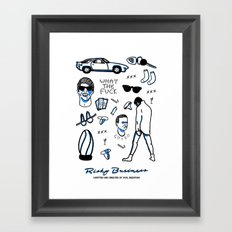 Risky Business  Framed Art Print