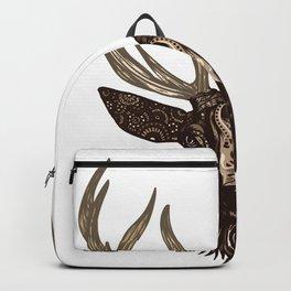 Deer Drawing Backpack