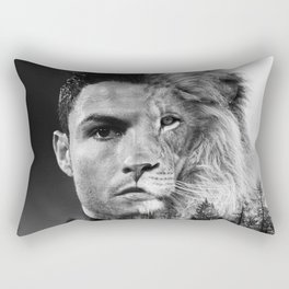 Cristiano Ronaldo Beast Mode Rectangular Pillow