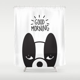Good morning Coco Shower Curtain
