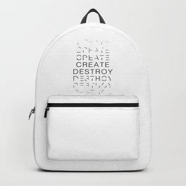 Create & Destroy Backpack