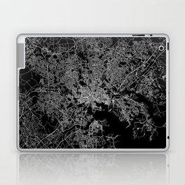 Baltimore map Maryland Laptop & iPad Skin