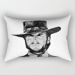 Blondie portrait drawing #1 Rectangular Pillow