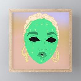 Twigs in Space Framed Mini Art Print