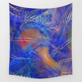Chaotic Storm Wall Tapestry