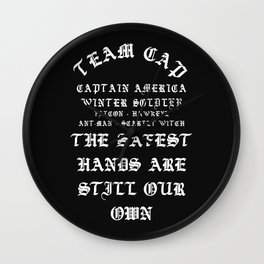 Team Cap YezzusInspired Wall Clock