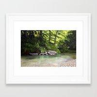 kentucky Framed Art Prints featuring Kentucky Creek by MacDonald Creative Studios