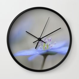 Soft violet Wall Clock