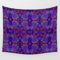 bubbles Wall Tapestries featuring Bubbles by ARTDROID