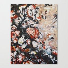 Blood Shell Canvas Print