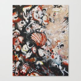 Blood Shell Canvas Print