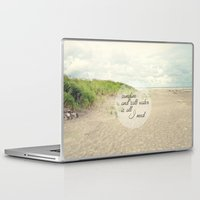 salt water Laptop & iPad Skins featuring sunshine and salt water by Sylvia Cook Photography