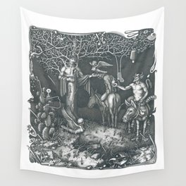 The Poet Wall Tapestry
