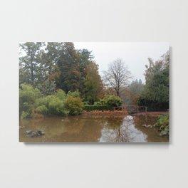 The Water Garden Metal Print
