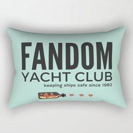 FANDOM YACHT CLUB (fandom) Rectangular Pillow